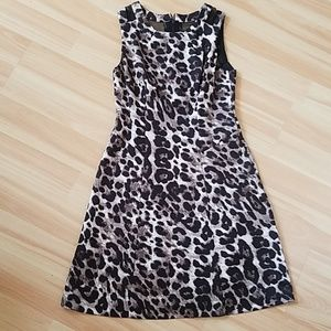 Dresses & Skirts - Leopard skater dress